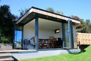 Garden room structure, garden rooms construction, garden room build methods
