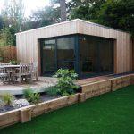luxury games room in the garden