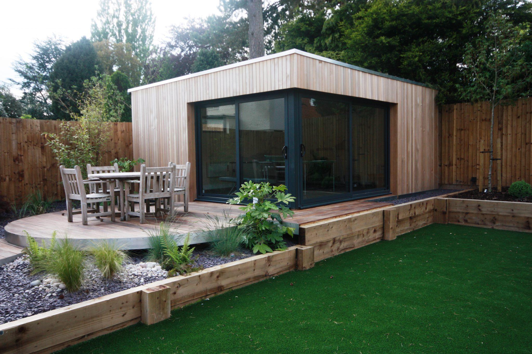 Garden rooms photo gallery of buildings by swift garden for Luxury garden rooms