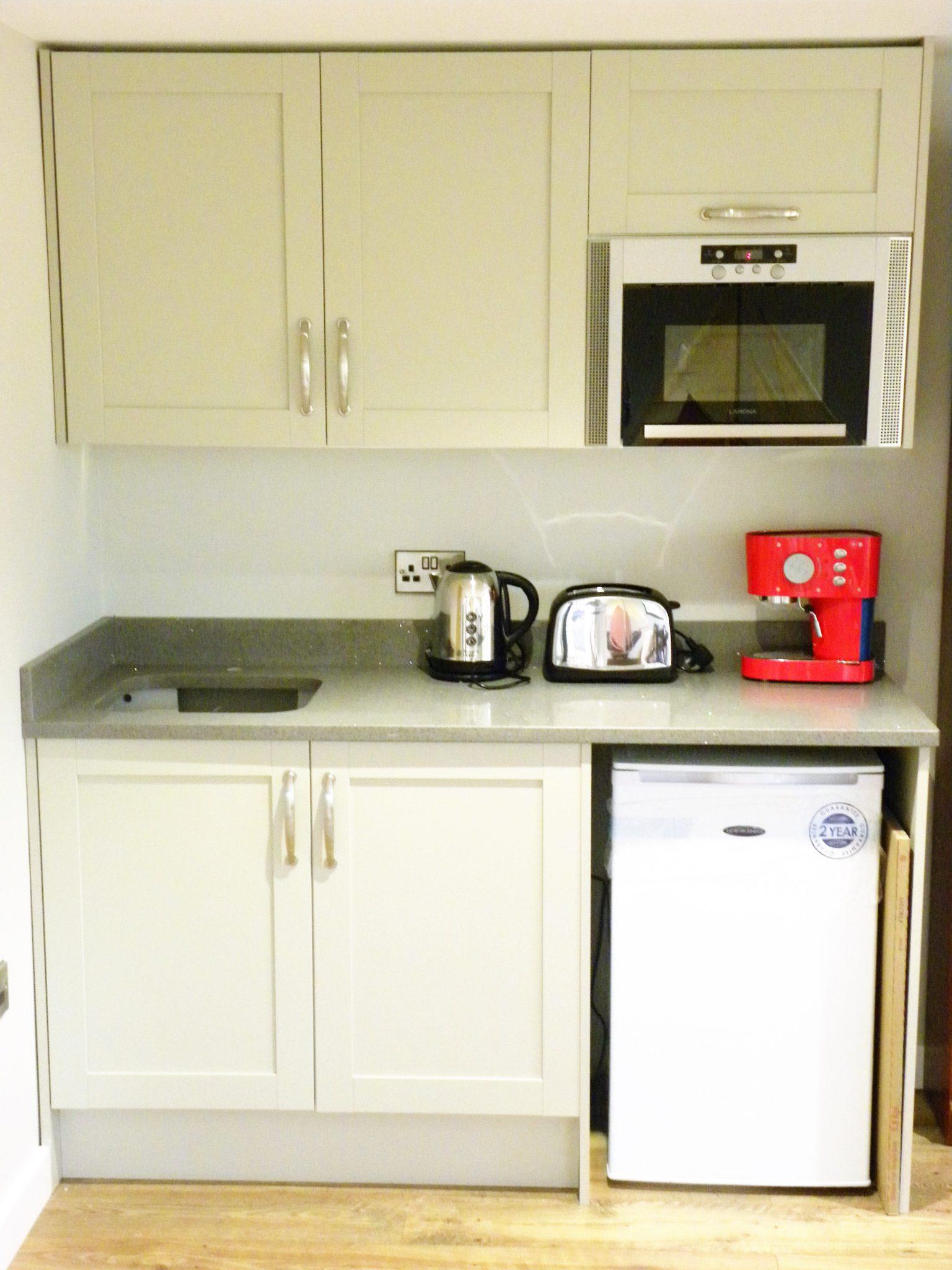 Granny annexe, kitchenette, living annexe, garden rooms