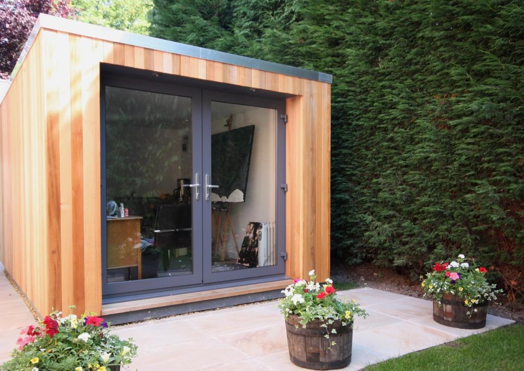 Art studio, garden art studio