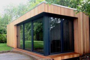 Garden rooms, Garden studio by the Thames