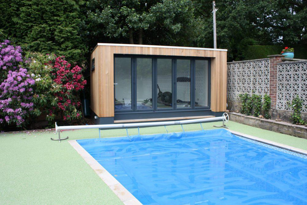 Garden pool spa rooms, garden rooms