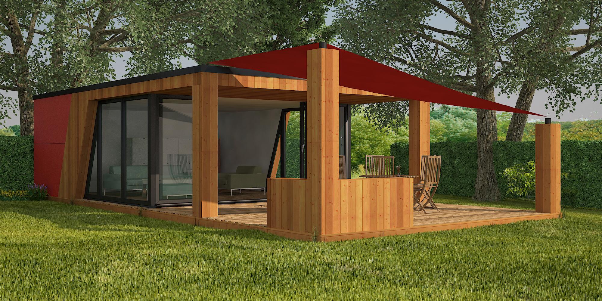 garden rooms, designs, concept image