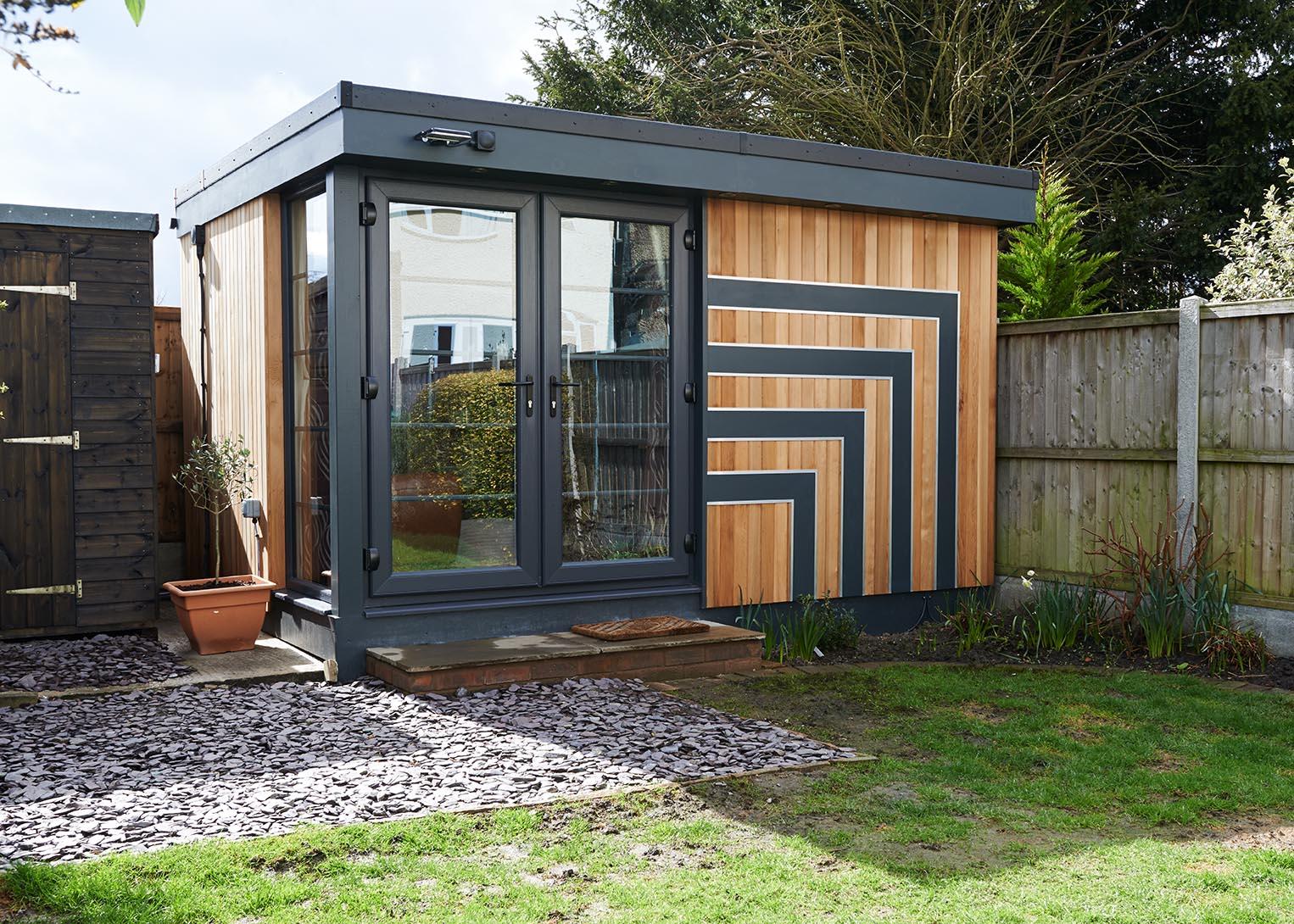 Art Deco Inspired Recording Studio Swift Garden Rooms