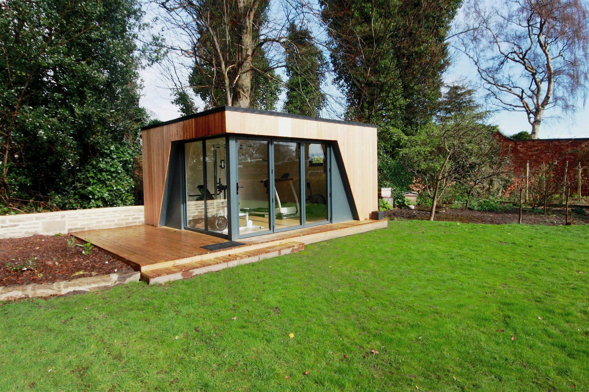 Garden rooms photo gallery of buildings by swift garden for Garden rooms cheshire