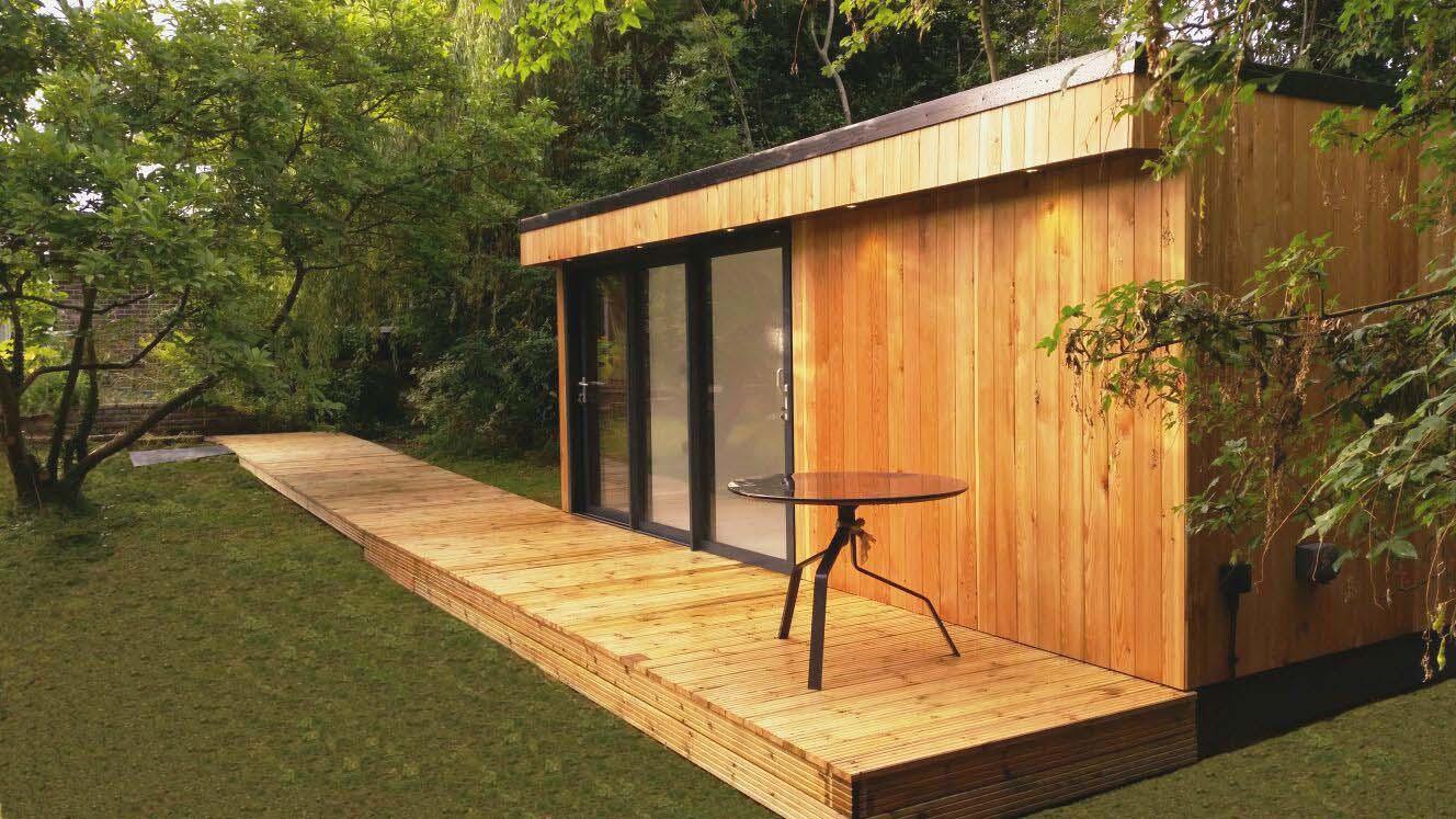 art studios, garden rooms