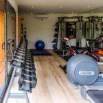 bespoke garden gym interior