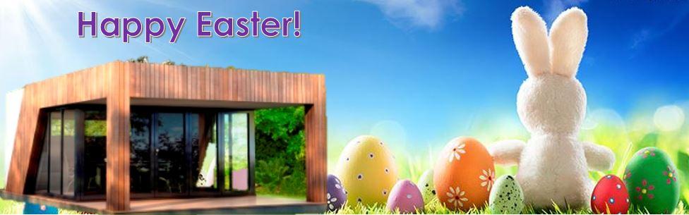 Easter garden room