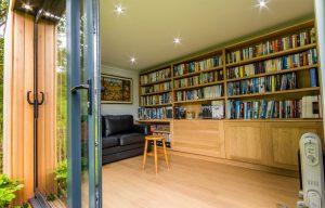 Family garden room interior