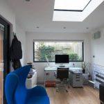 bespoke garden office interior