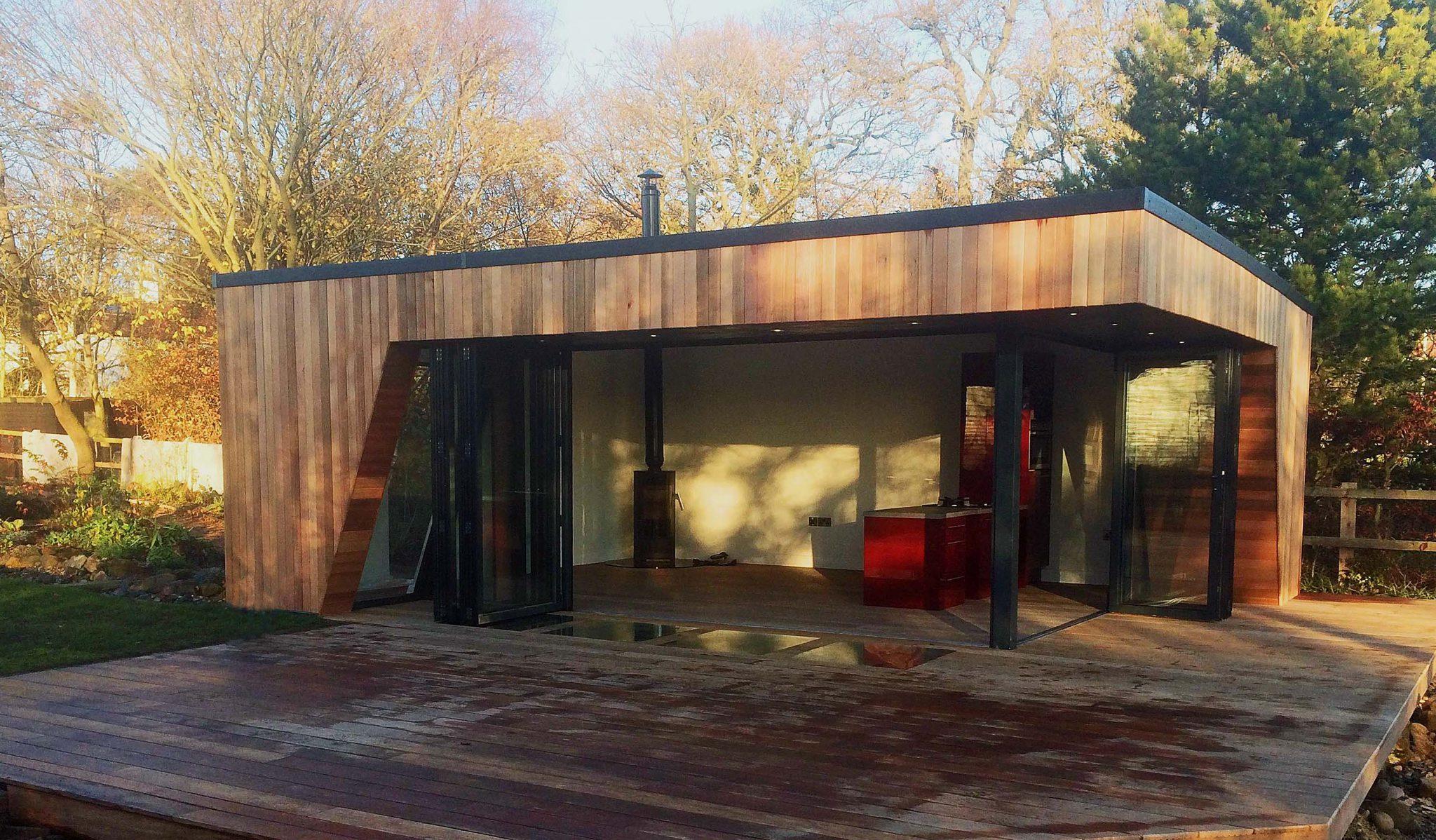 Your garden room haven come rain or shine swift garden for Luxury garden rooms