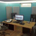 Sound Studio interior, home work space