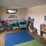 New garden room classsroom interior