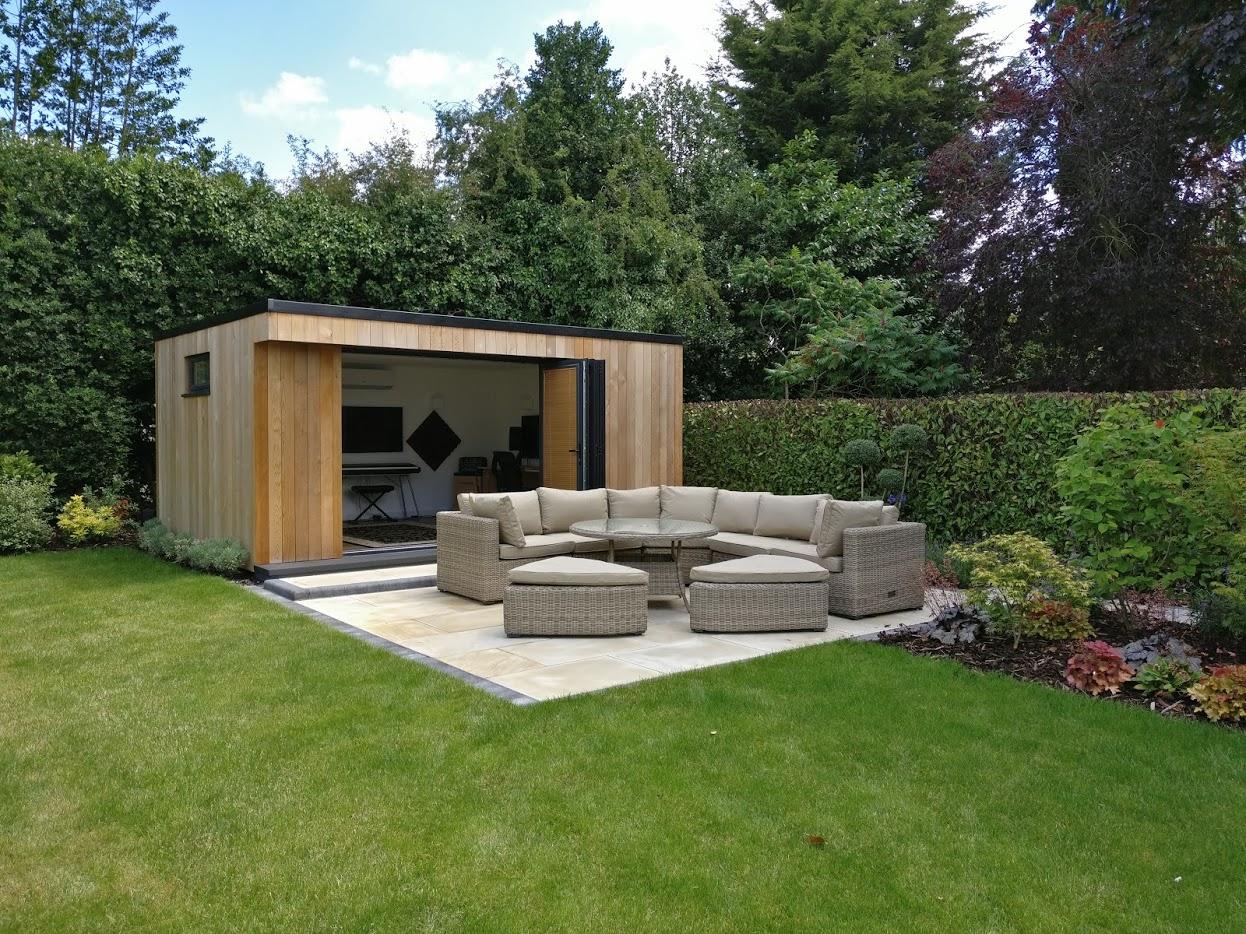 Insulation not hibernation swift garden rooms for Best garden rooms uk