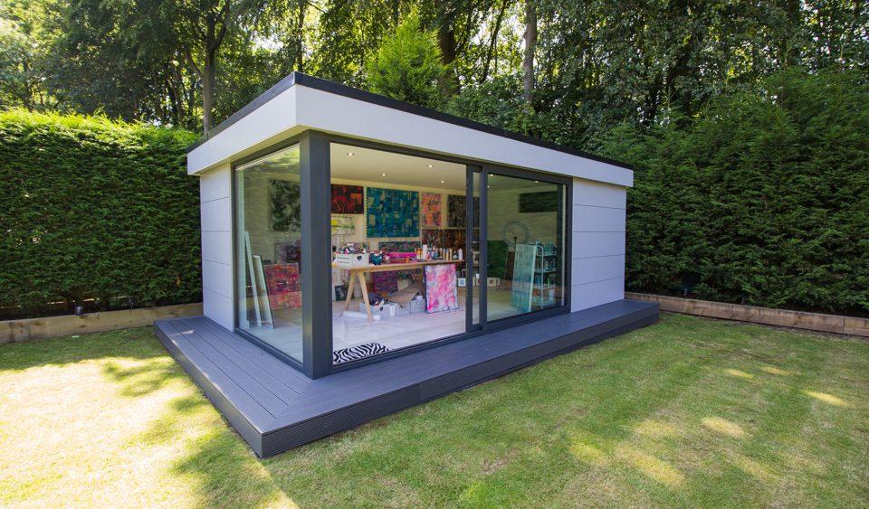 luxury garden building
