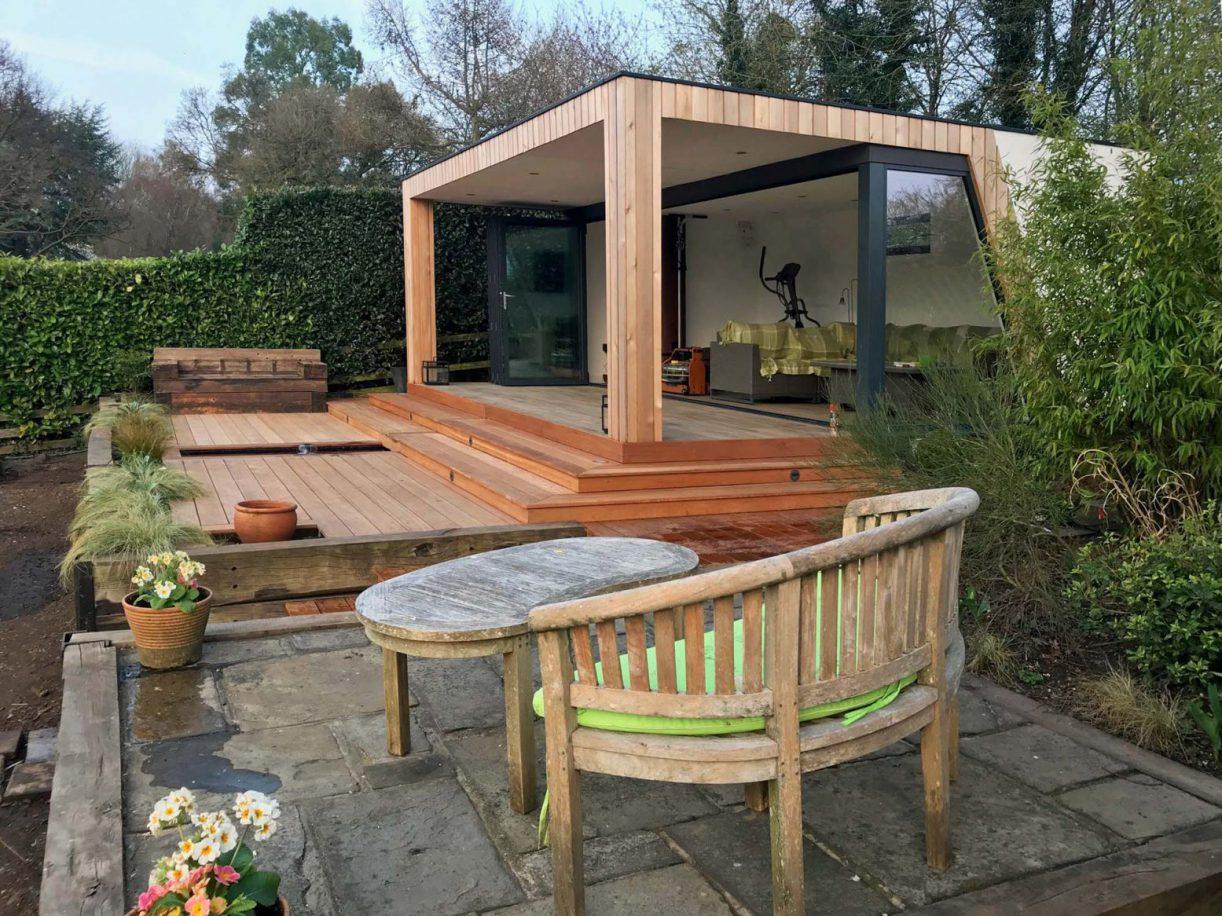 SIP garden room installation