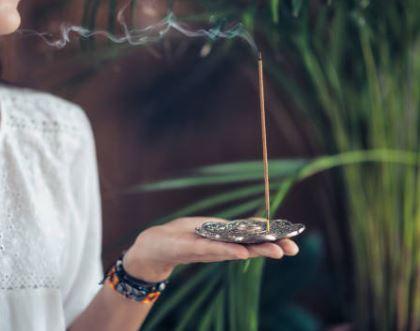 Yoga room incense