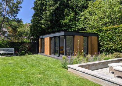 Garden Office Suite in a landscaped garden