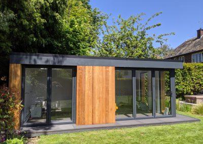 Garden Office Suite exterior