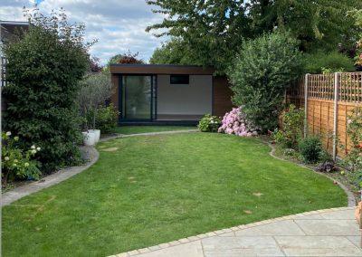 Modern garden room