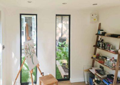 Bethnal Green Garden Studio interior