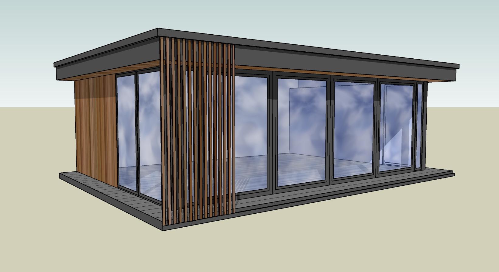garden room design drawing