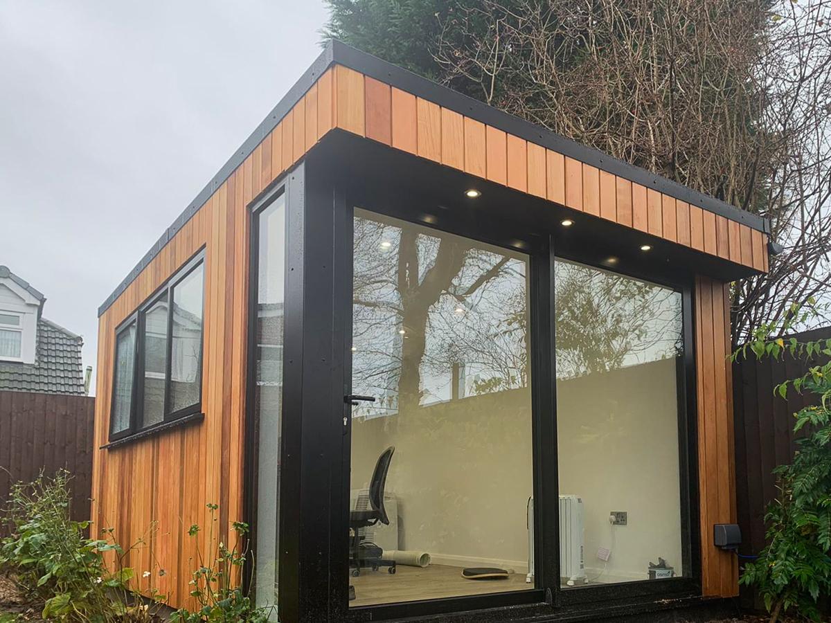 Garden office, Warrington