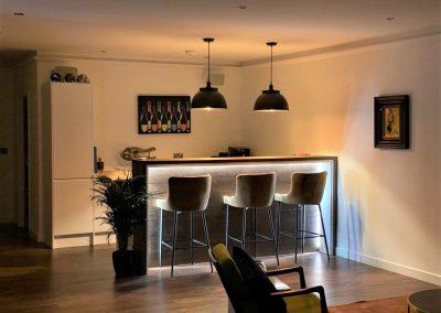 Sevenoakes multipurpose garden room bar area