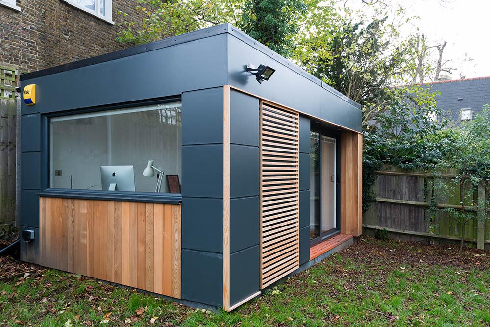 Bespoke garden office exterior