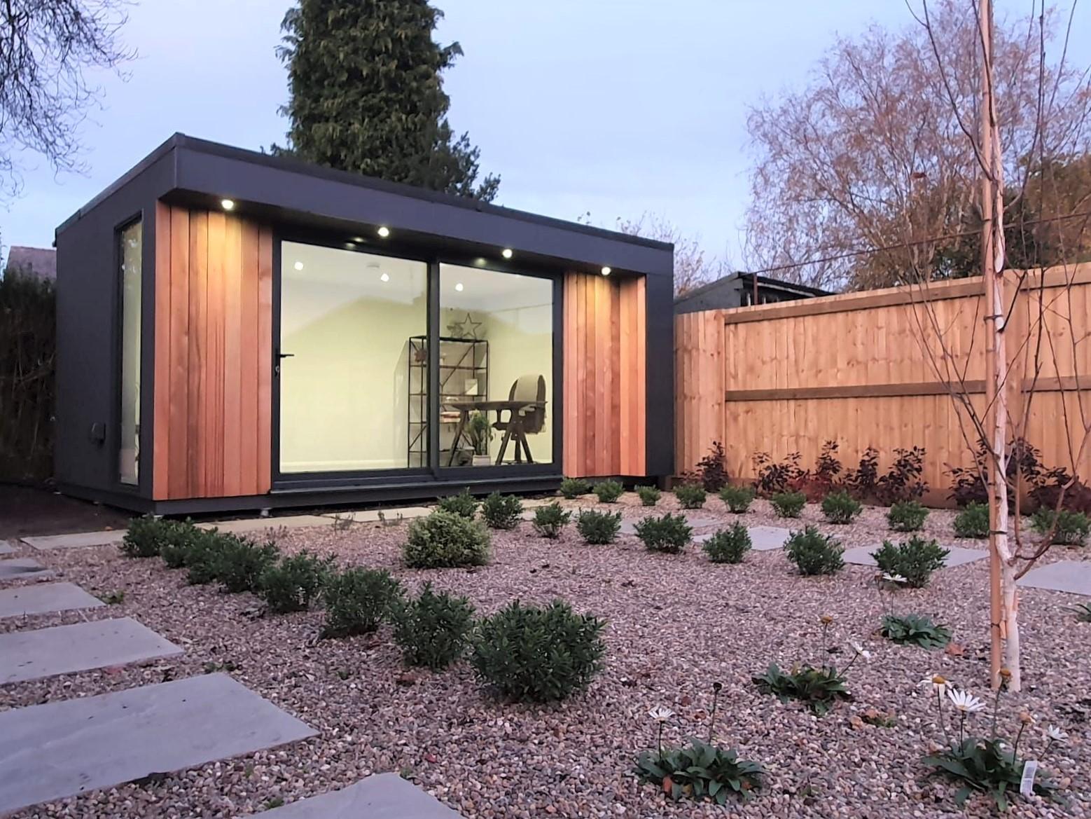 Bespoke garden office, multipurpose